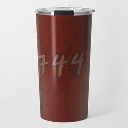 744 Door Illustration Travel Mug