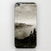 switzerland iPhone & iPod Skins featuring Vintage Switzerland by breezy baldwin