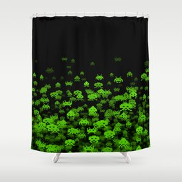 Invaded II Shower Curtain