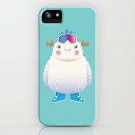 Cute Yeti iPhone Case