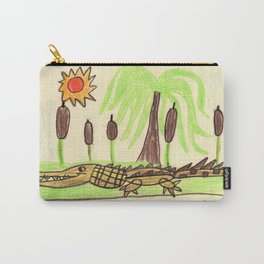Crocodile Swamp Carry-All Pouch