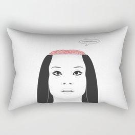 THE FLOWER OF CARNAGE - KILL BILL - MEIKO KAJI Rectangular Pillow