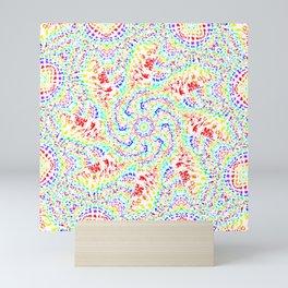 Rainbow Kaleidoscope 5 Mini Art Print