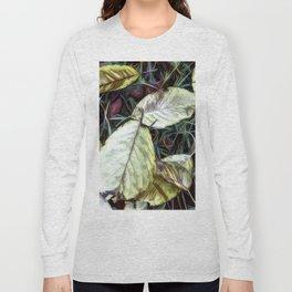 Autumn Apple Leaves Long Sleeve T-shirt