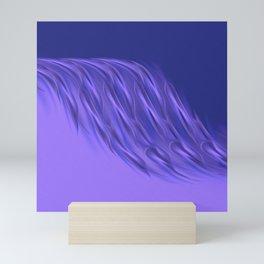 Rocking purple Mini Art Print