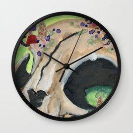 Shroom Cat Wall Clock