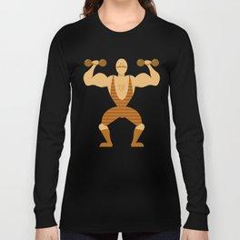 Muscle Man Long Sleeve T-shirt