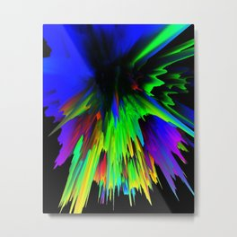 iDeal - ColorSplash 002 Metal Print