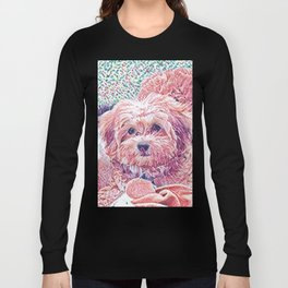 Copper the havapookie as a puppy Long Sleeve T-shirt