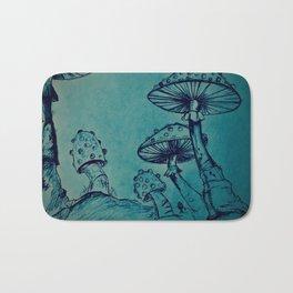 Mushroom Garden Bath Mat