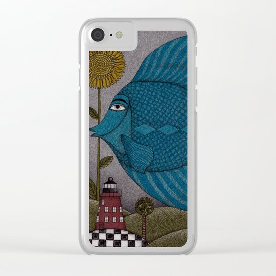 It's a Fish! Clear iPhone Case