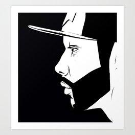 The Thinking Man Art Print