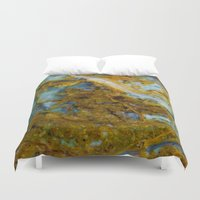 tie dye Duvet Covers featuring Tie Dye by Ian Bevington
