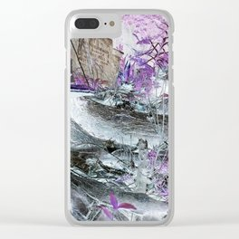 Fungal Ends Clear iPhone Case