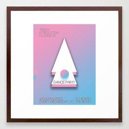 DJ SO & SØ at the Brain (for ANALOG zine)•—⁄ ⁄—º° Framed Art Print