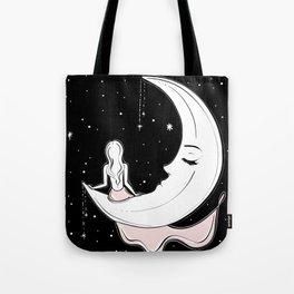 Moonlight Meditation Tote Bag