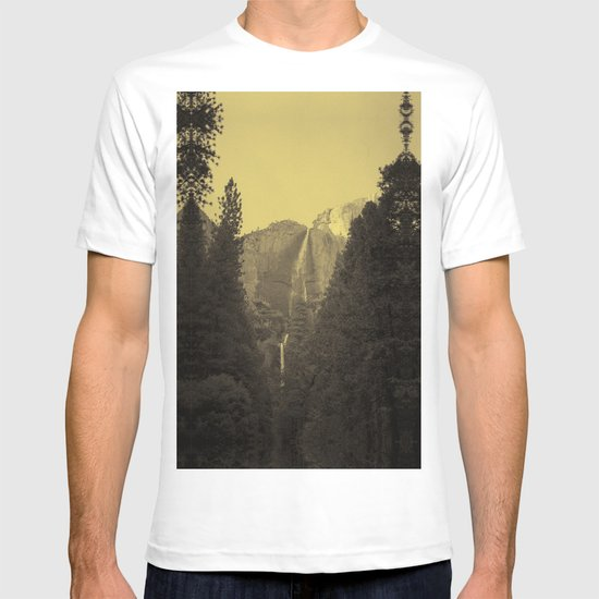 Yosemite Falls Tin Yellow T-shirt