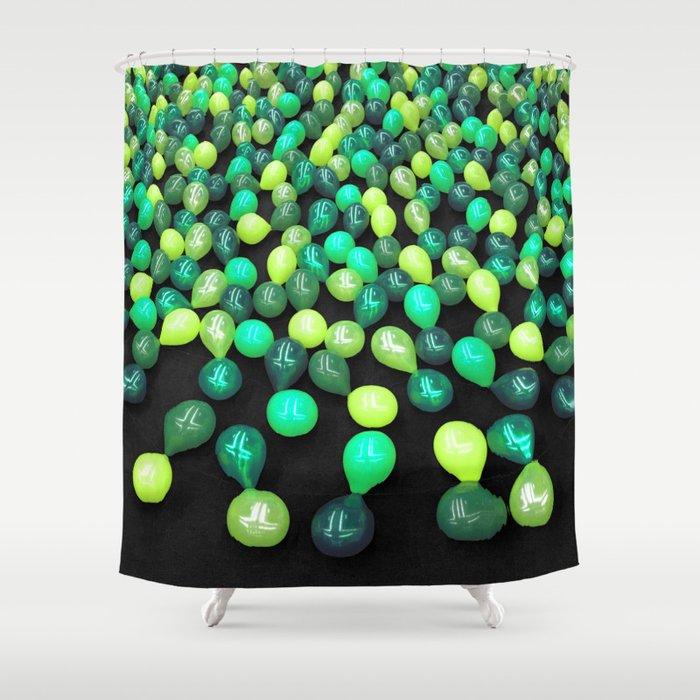 Preserve Green Shower Curtain