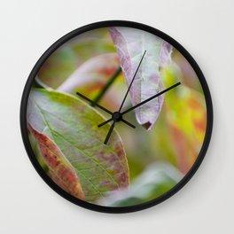Fall begins Wall Clock