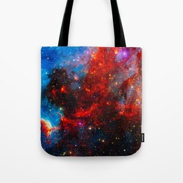 Dreamers In An Endless Universe, Galaxy Background, Universe Large Print, Space Wall Art Decor Tote Bag