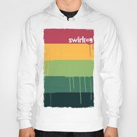 rasta Hoodies featuring Rasta Drips by Swirl Apparel