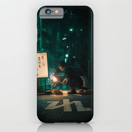 Japan street life | Hanabi | Senbenito iPhone Case