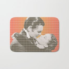 Frankly my dear, I don't give a dam Bath Mat