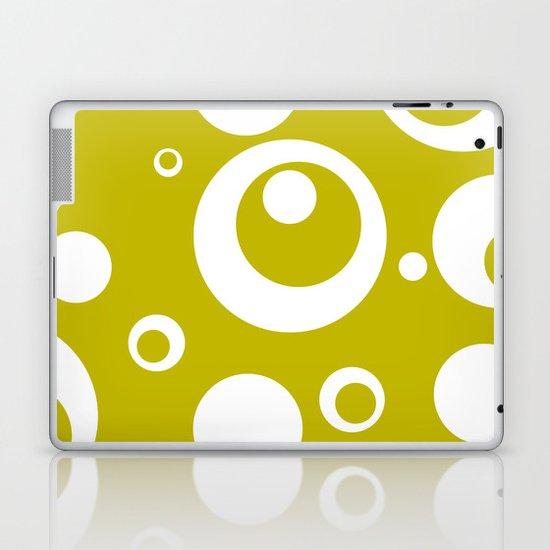 Circles Dots Bubbles :: Citron Laptop & iPad Skin