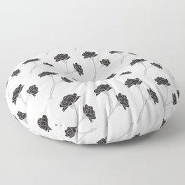 Flower Stems Floor Pillow