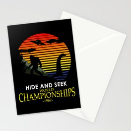 Hide And Seek World Championships 1967 Stationery Cards