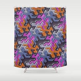 Geometrix 112 Shower Curtain