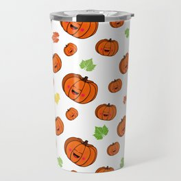 The happy pumpkin Travel Mug