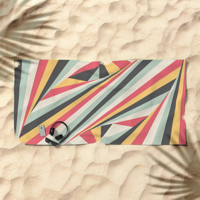 Twiangle Beach Towel