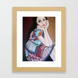 Daria Framed Art Print
