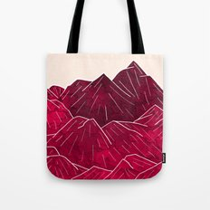 Ruby Mountains Tote Bag