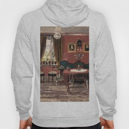 Edvard Munch - The Living-Room of the Misses Munch in Pilestredet 61 Hoody