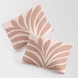 Abstract Fern 1. Blush #minimal Pillow Sham