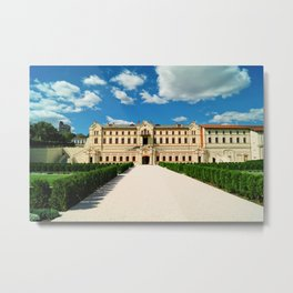 Mimi winery castle Metal Print
