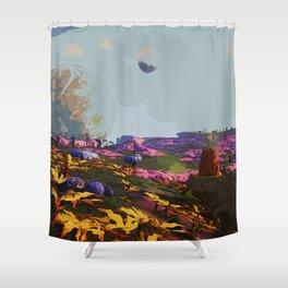 Goodmorning Lemuria Shower Curtain