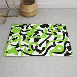 Color Madness 3 (Green) Rug