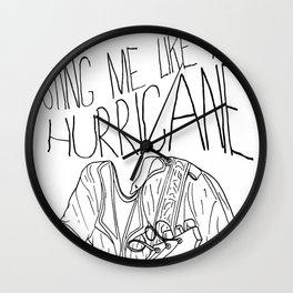 Robert J. Hunter Vs. Anything Goes! Wall Clock