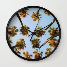 Palm trees overload Wall Clock