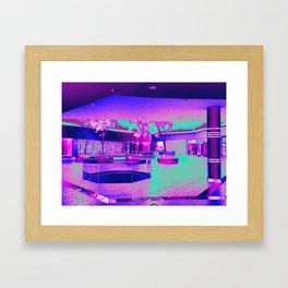 Retro Retail Realm Framed Art Print