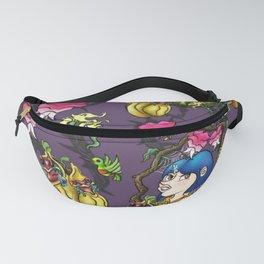 Coraline Pattern Fanny Pack