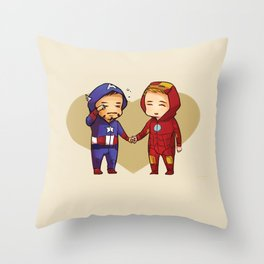 Kigurumi Superhusbands Throw Pillow