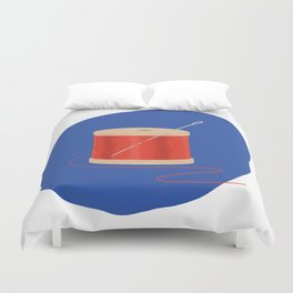 Thread and Needle Duvet Cover