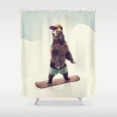 Board Shower Curtain