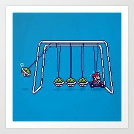 Mamma Mia! (pixel version) Art Print