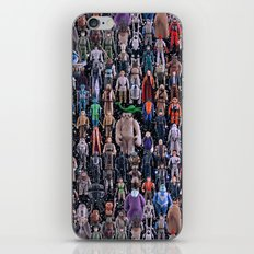 Star Wars Vintage Figures Collage iPhone & iPod Skin