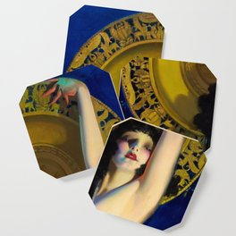 The Enchantress by Rolf Armstrong (c.1927) Coaster